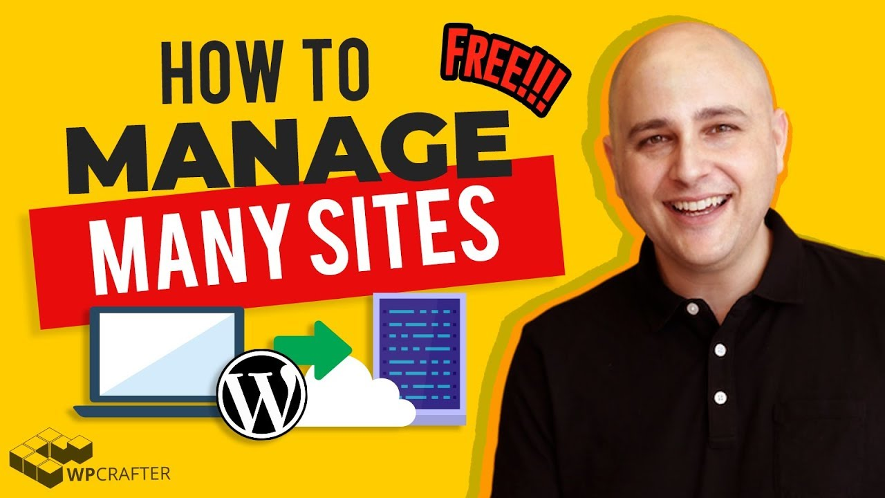 How To Manage Multiple WordPress Websites In 1 Control Panel Secure & Completely Free