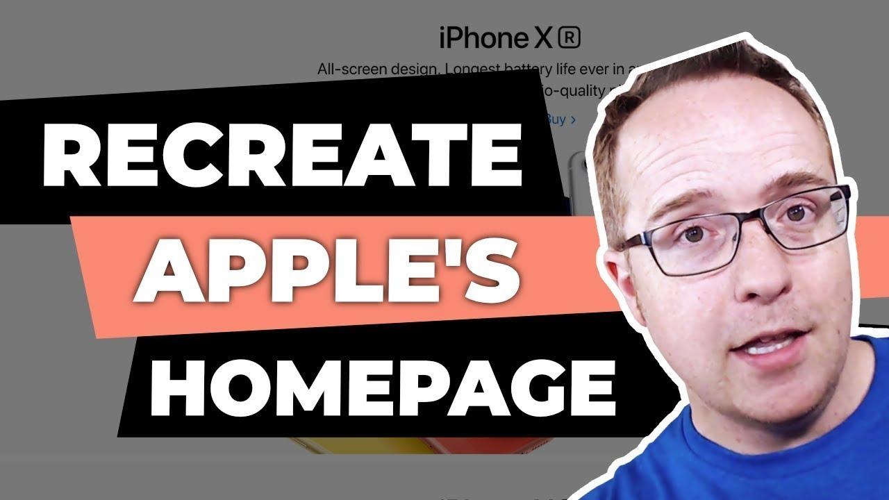 How To Use WordPress Gutenberg Blocks To Recreate The Apple Homepage