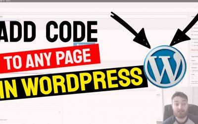 WordPress For Beginners – How to Add Code to Website Header on Specfic Pages in WordPress | Free WordPress Tutorial