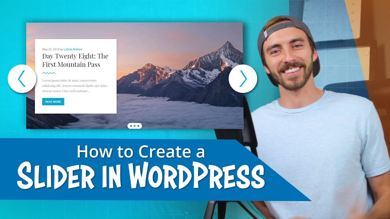 How to Create a Slider in WordPress | EASY!