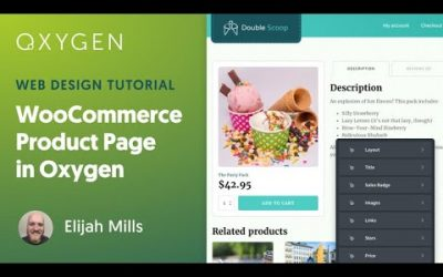 WordPress For Beginners – How to Customize the WooCommerce Single Product Template in WordPress using Oxygen