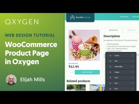 How to Customize the WooCommerce Single Product Template in WordPress using Oxygen