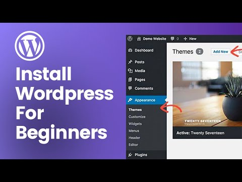How to Install Wordpress on your Domain Name - Beginners Tutorial