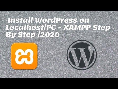 Install WordPress on localhost - xampp Step By Step | WordPress for Beginners |