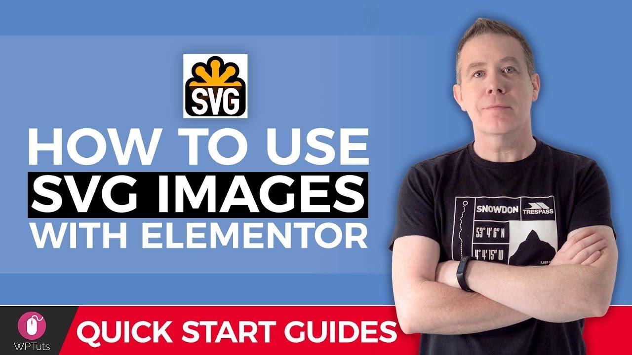SVG Tutorial For Beginners - WordPress & Elementor