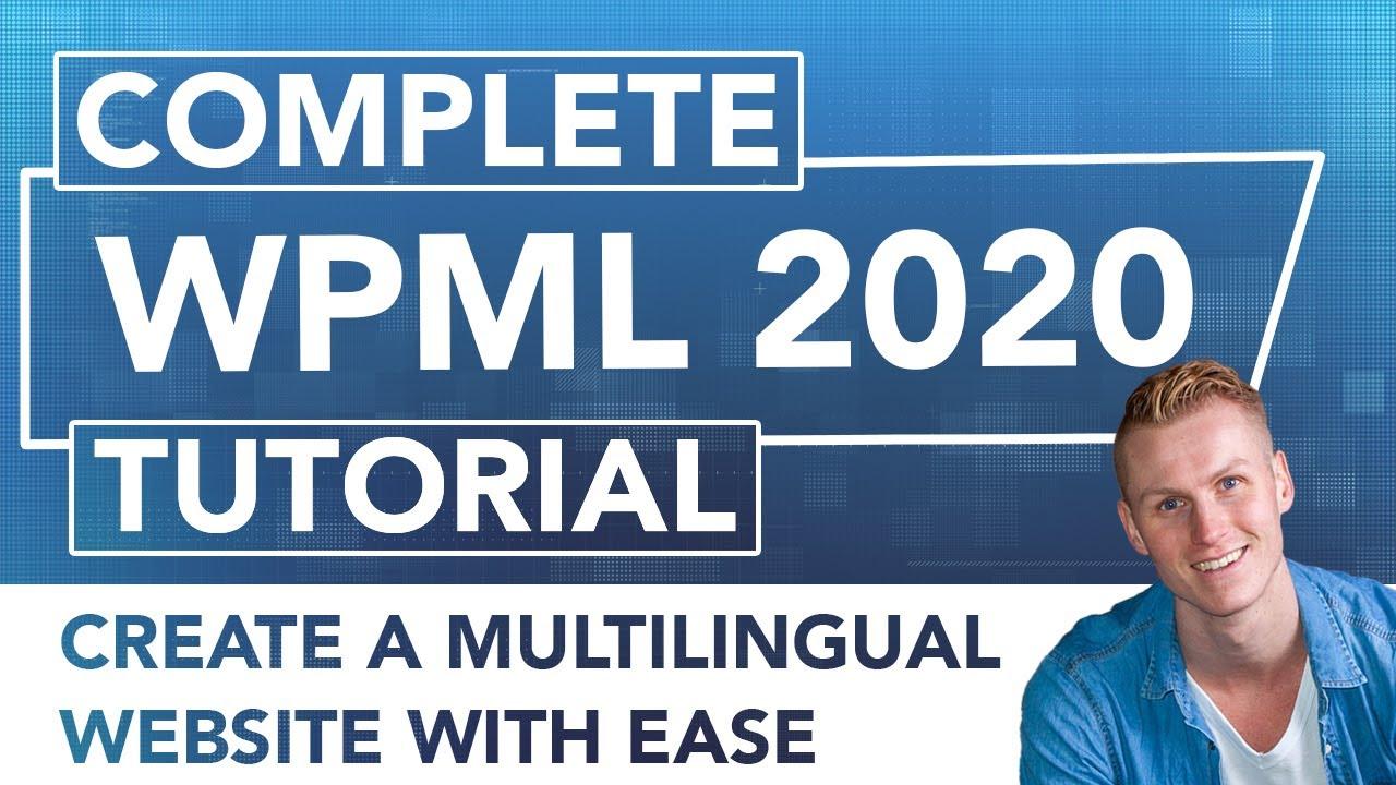 WPML Tutorial 2019 | Make Your Wordpress Website Multilingual