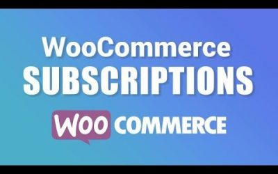 WordPress For Beginners – WooCommerce Subscription Plugin Tutorial: Create A Subscription WordPress Website!