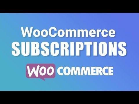 WooCommerce Subscription Plugin Tutorial: Create A Subscription Wordpress Website!