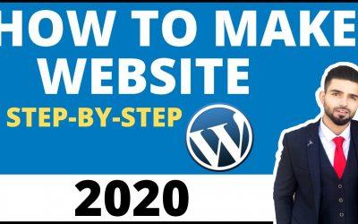 WordPress For Beginners – WordPress Training For Beginners: Step By Step Tutorial 2020