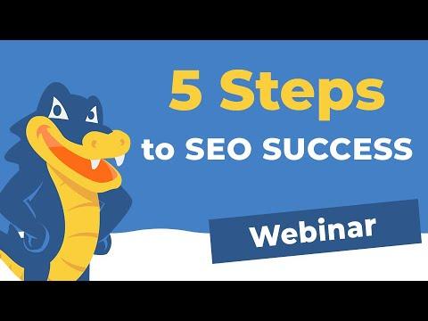 5 Steps to Website SEO Success