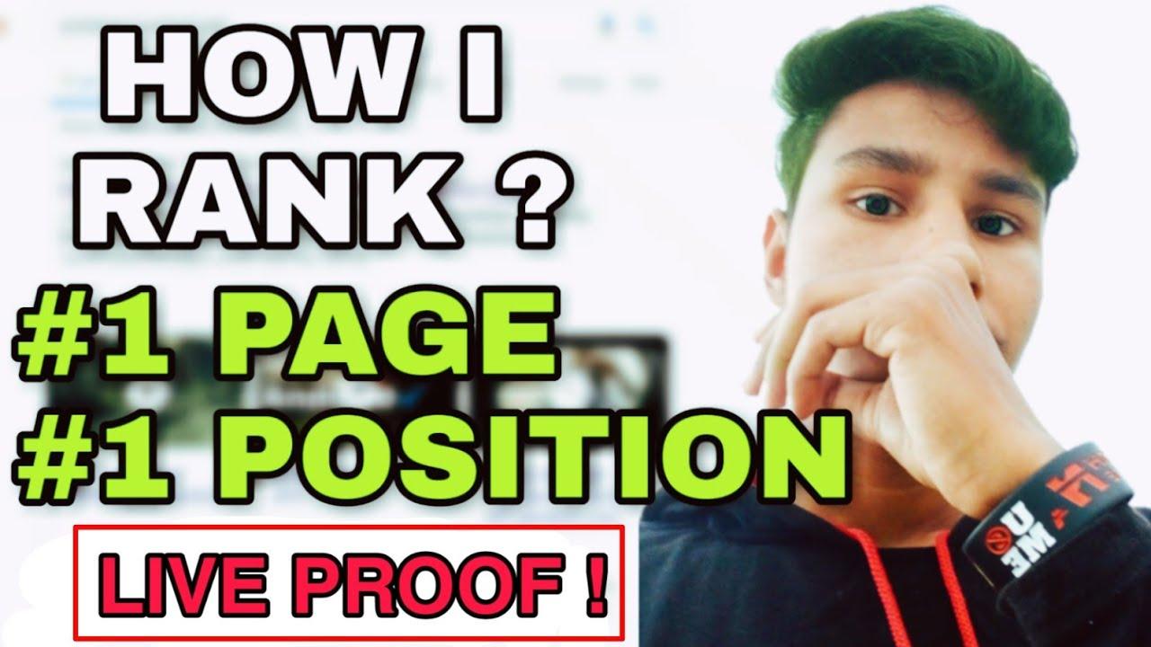 Advanced SEO (2020)   How To Rank on Google 1st Page   Seo Tips Hindi   TechRokz Shivam Tomar