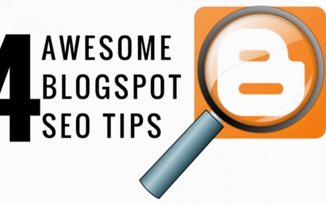Blogspot SEO Tips - Blogger Tutorial