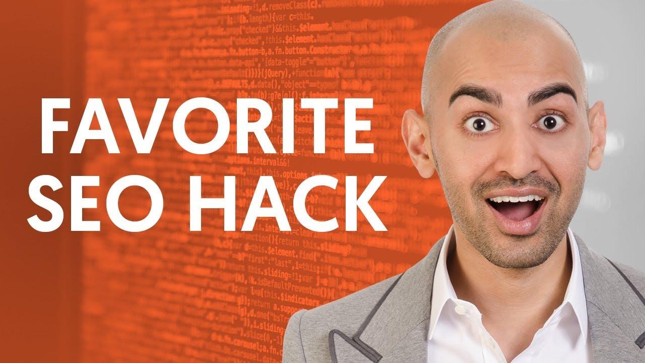 My Favorite SEO Hack to Increase Website Traffic | Neil Patel