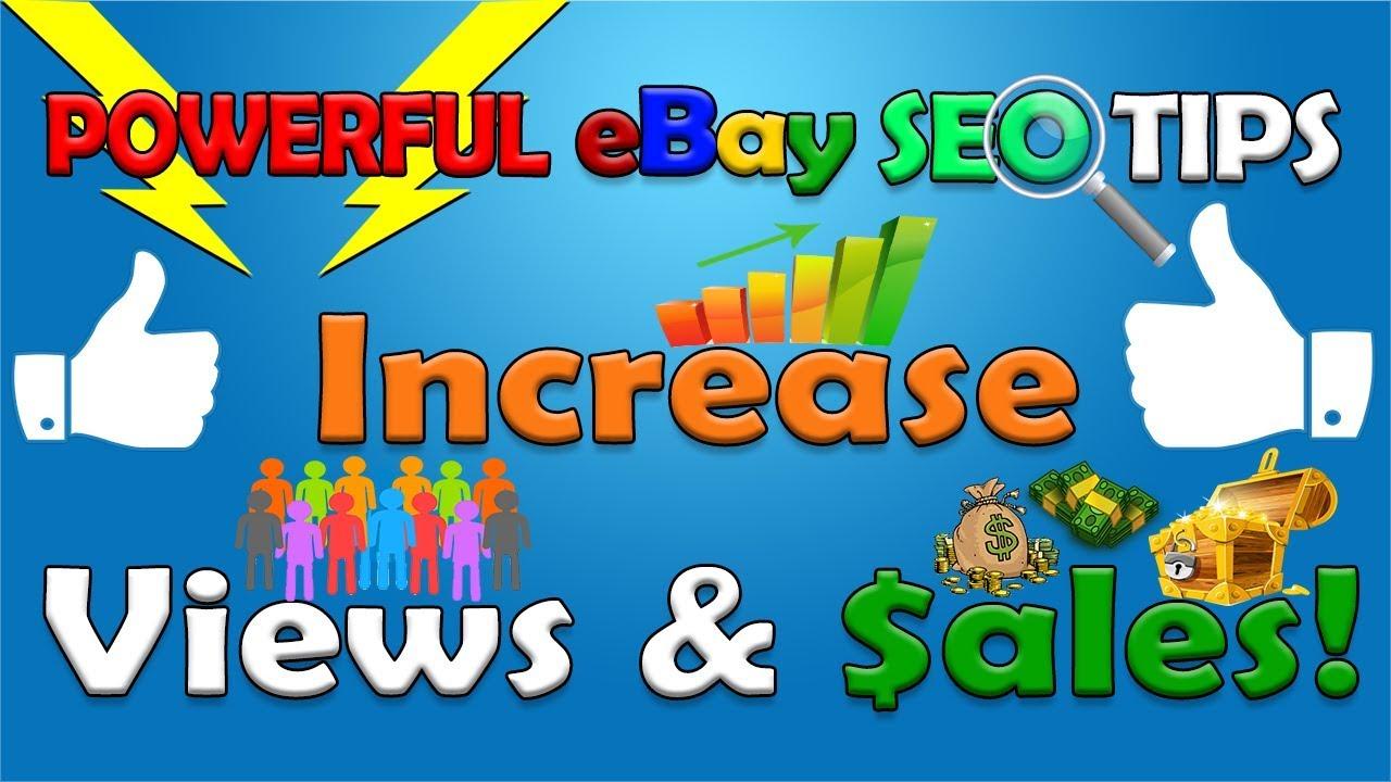 POWERFUL eBay SEO Tips For Finding Better eBay Keywords / eBay Tags