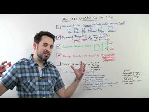 SEO Checklist for New Websites - DIY Search Engine Optimization