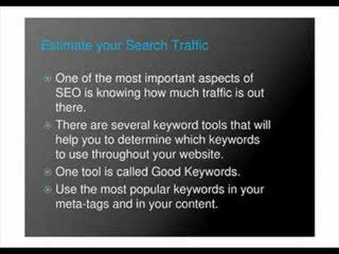 SEO Five traffic tips - search engine optimization tips