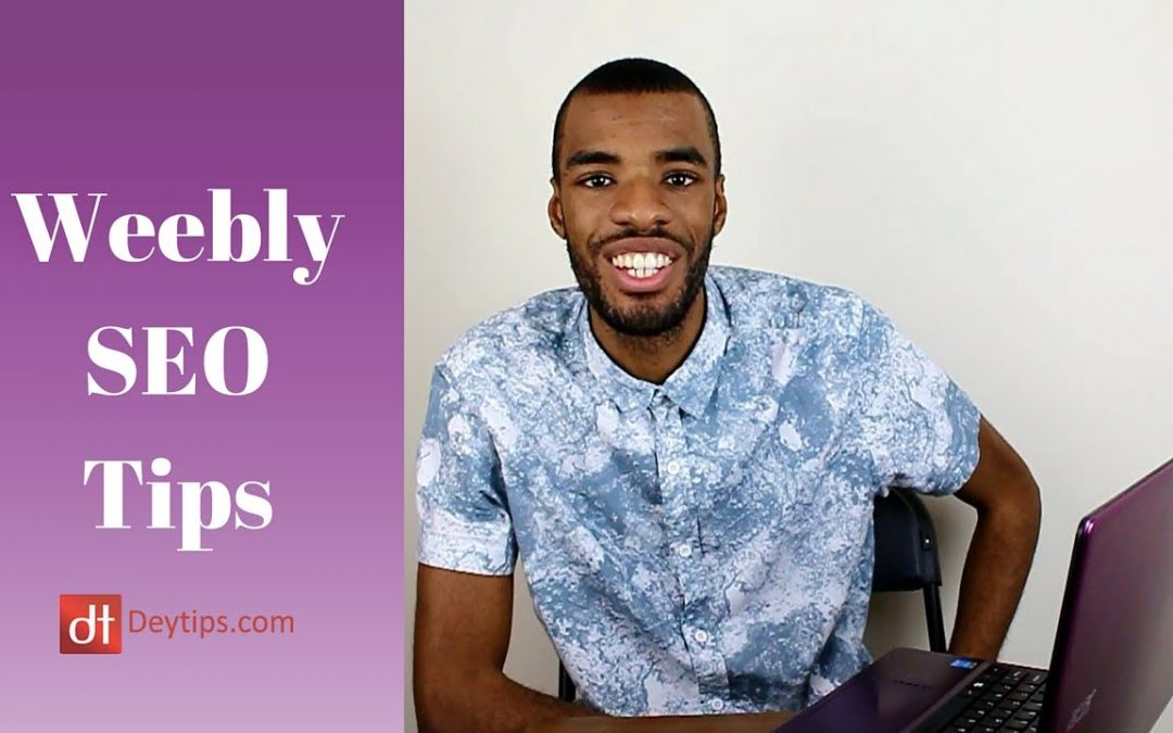 SEO For Weebly Website Owners   Weebly SEO Tips