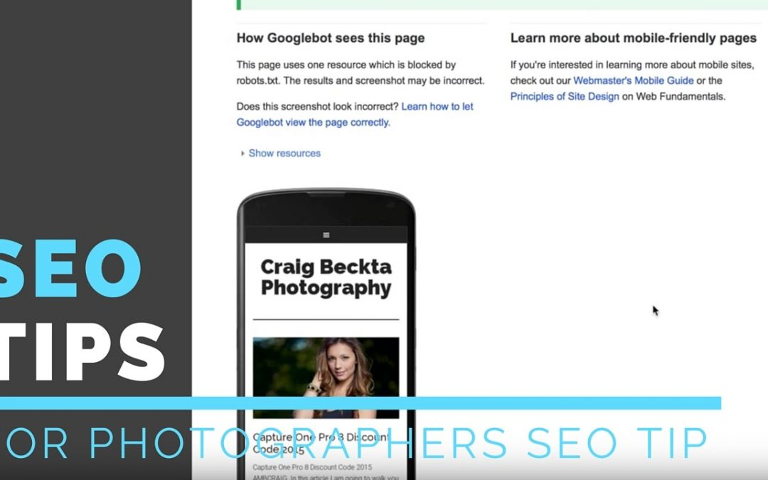 SEO Tips For Wordpress For Photographers | Best Wordpress SEO Plugins Photography