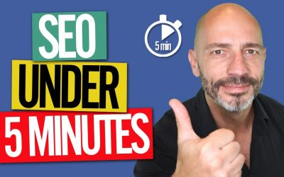 search engine optimization tips – SEO in Under 5 Mins a Day for High Google Rankings in 2020