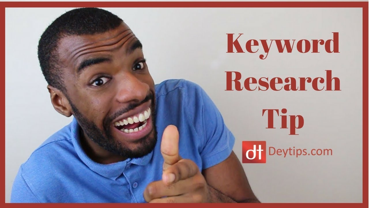Search Engine Optimization : Keyword Research Tip