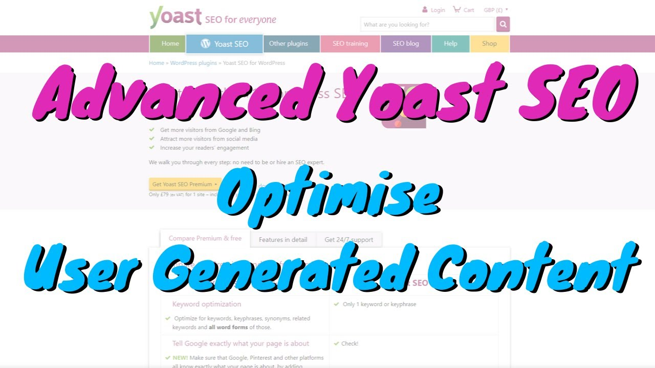 Super SEO Tips for Directory or Websites with User Submitted Content - Advanced Yoast Set-up