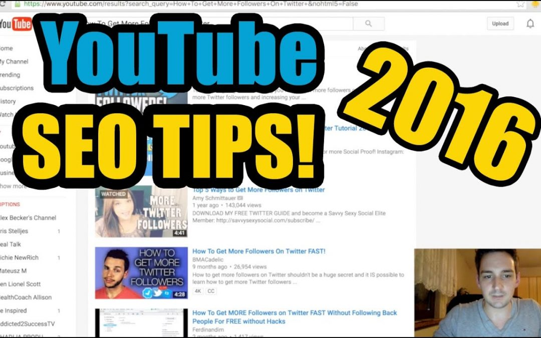 Youtube Seo Tips - How To Track Your Youtube Ranking Using Serpbook