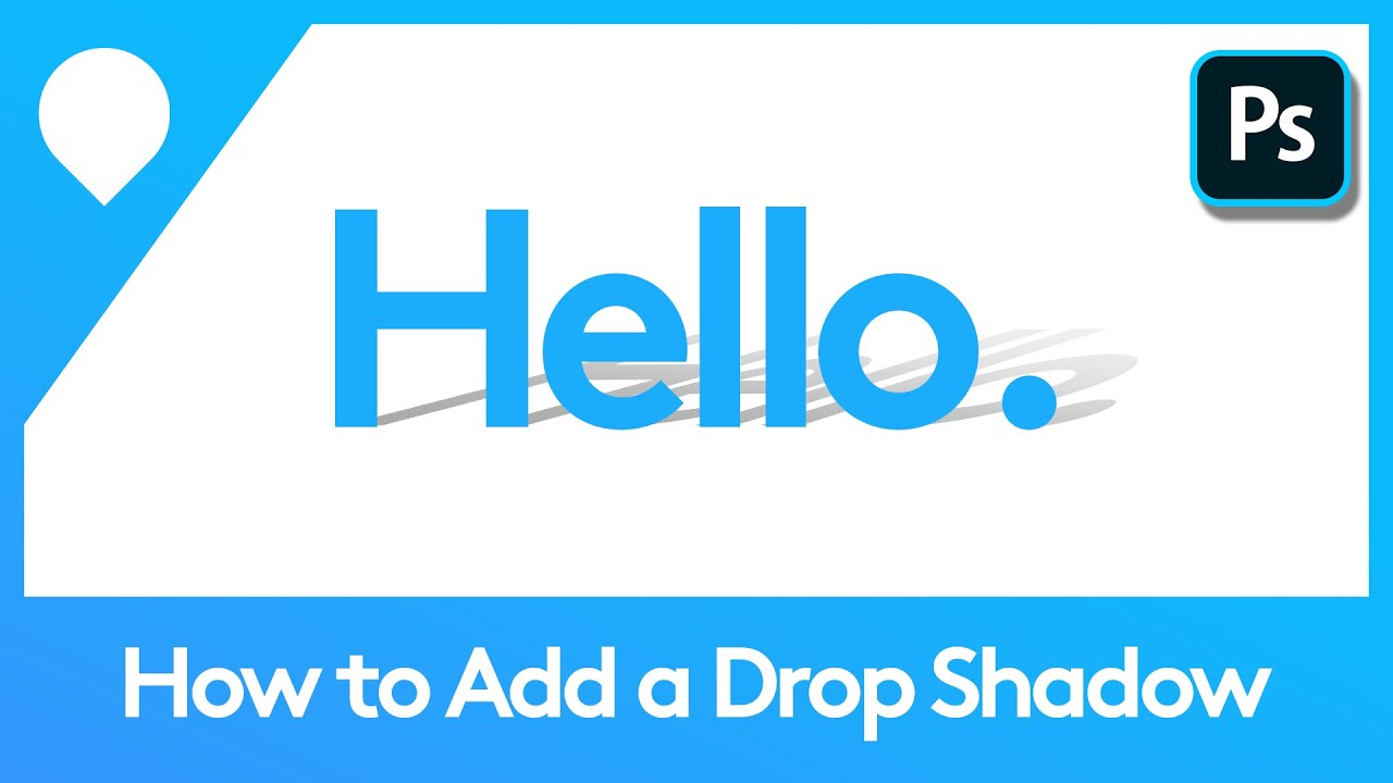 How to Add a Drop Shadow in Photoshop | Adobe Tutorial