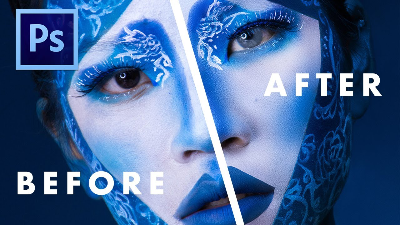 High-End Skin Retouching in 5 Steps | Photoshop Tutorial