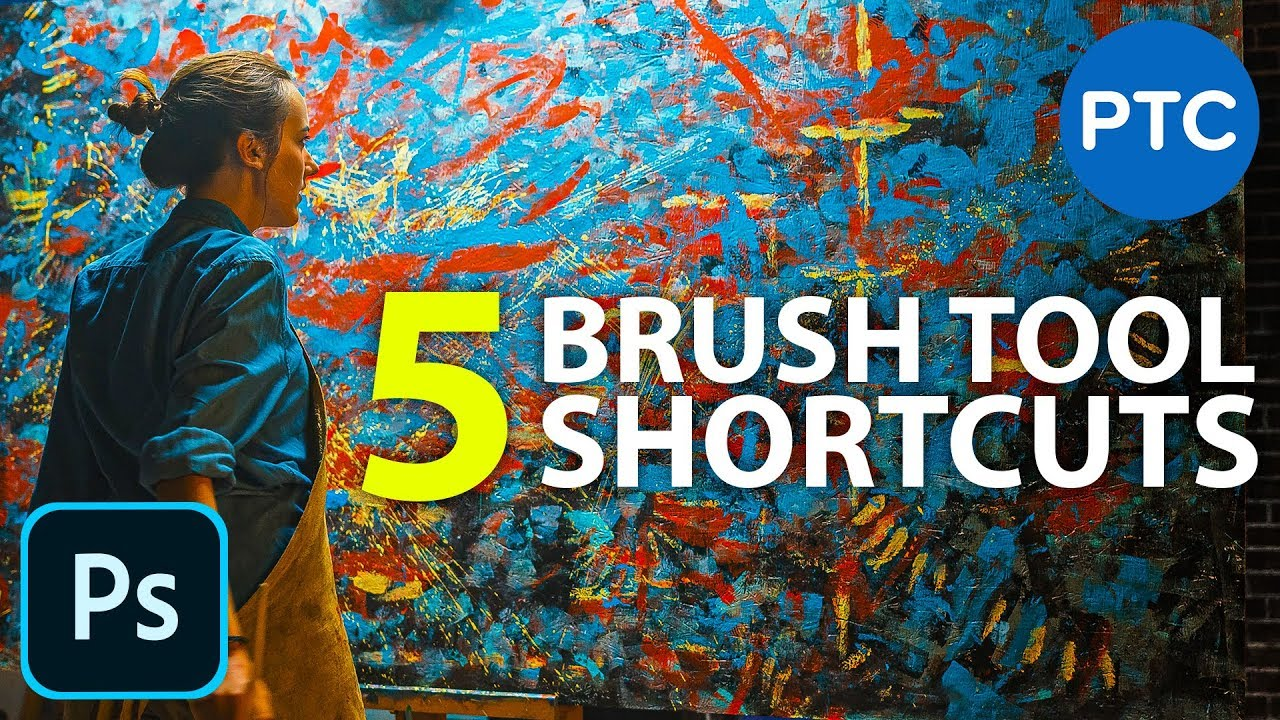 5 Must-Know Photoshop Brush Tool Shortcuts | 90-Second Tip #22