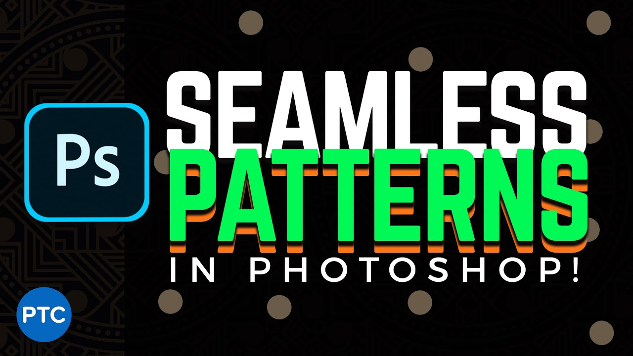 How To Create Seamless Patterns in Photoshop [Seamless Textures for 3D]