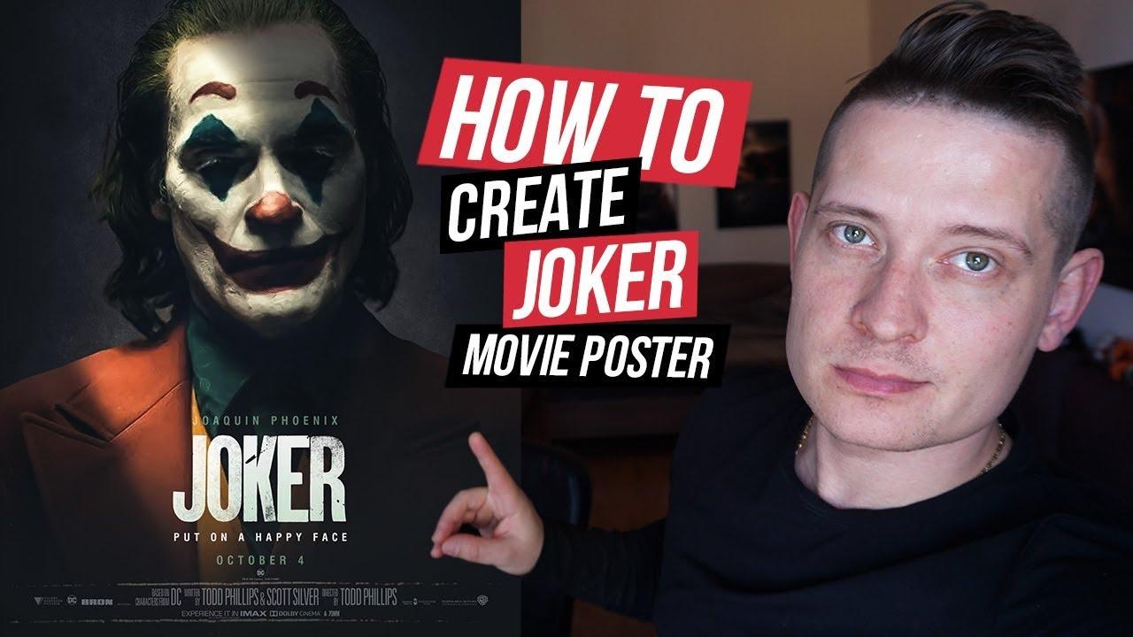 Joker Movie Poster - Photoshop Tutorial