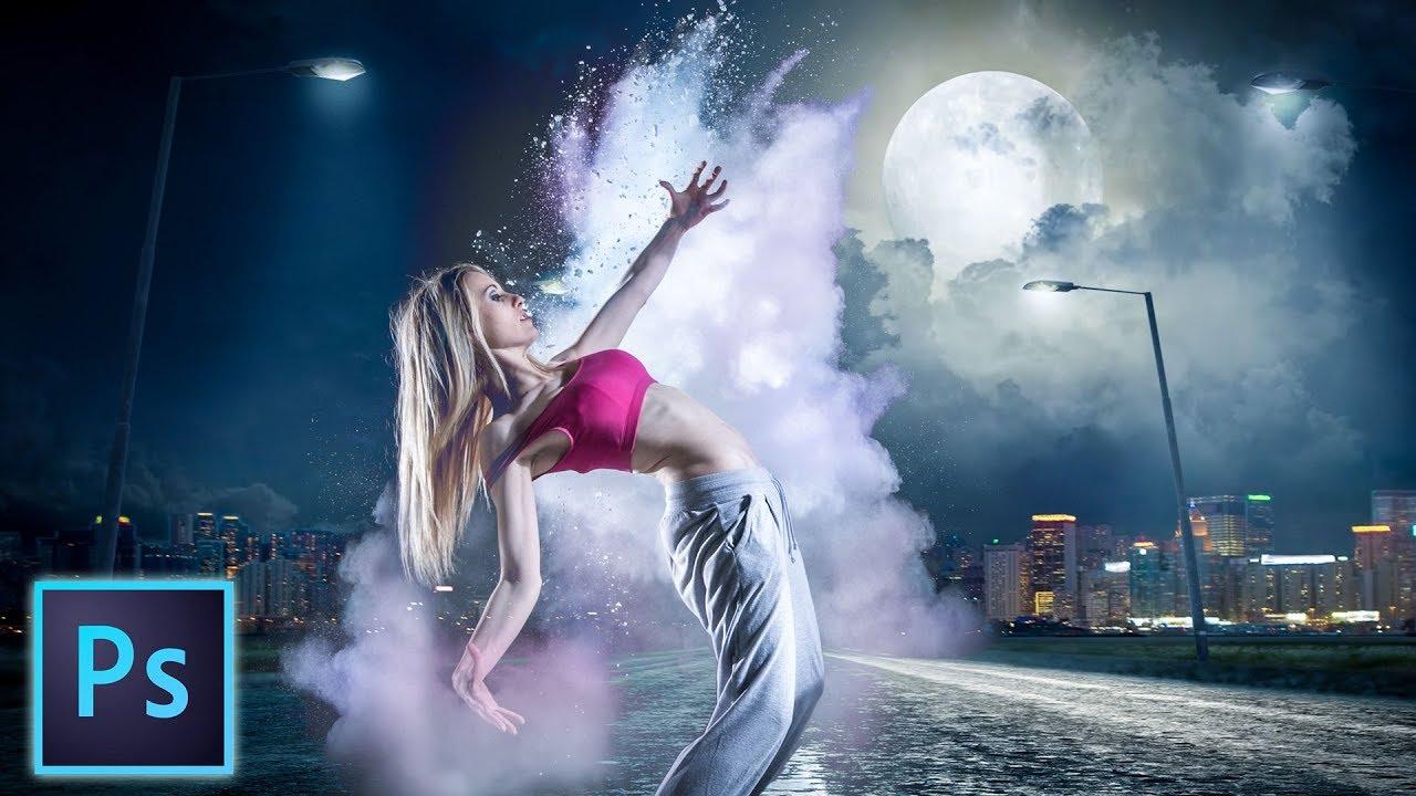 Combine photos, Photoshop digital art tutorial