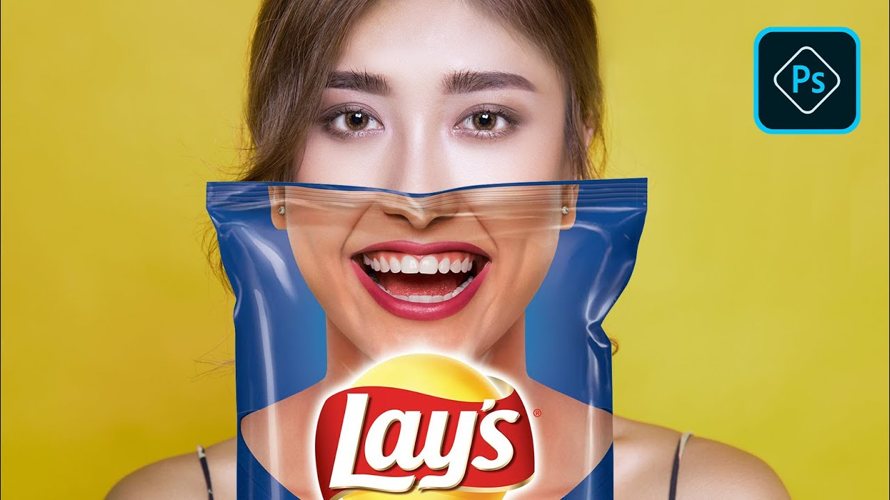 How to Create Lays Chips Portrait Effect - Photoshop Tutorials