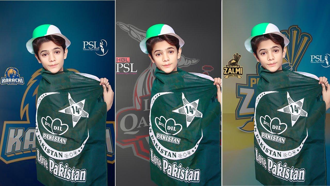 Pakistan Super League All Teams  Photo Editing Tutorial In Photoshop CC