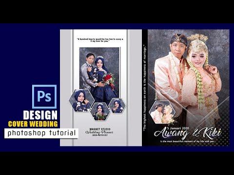 cara membuat design cover sampul kaset untuk wedding dengan menggunakan adobe photoshop