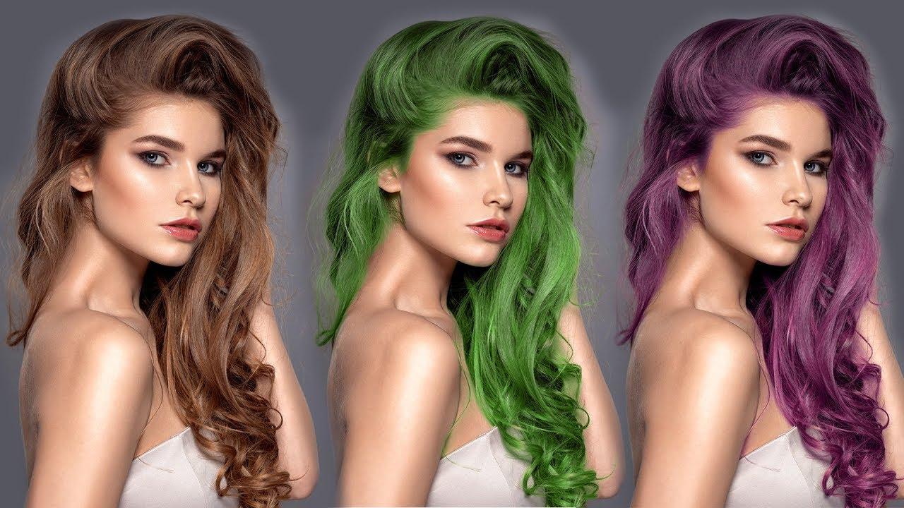 Jak zmienić kolor włosów i ubrań | Adobe Photoshop