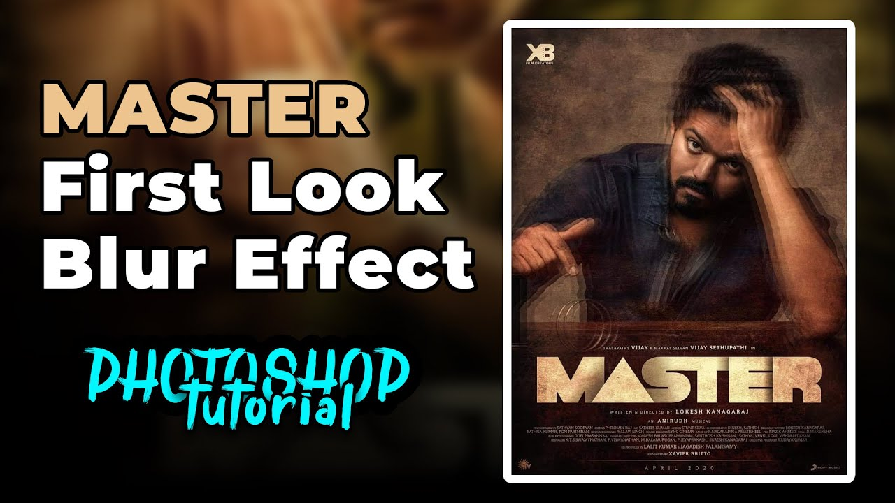Master First Look Blur Effect Photoshop Tutorial   Beta Nanban
