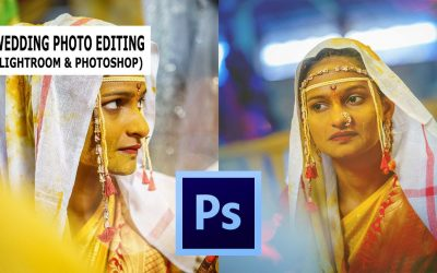 Photoshop Tutorial : Edit Indian Wedding Photos: Camera Raw Presets: Skin Softening