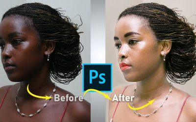 Photo retouching tutorial in photoshop cc – Change skin color