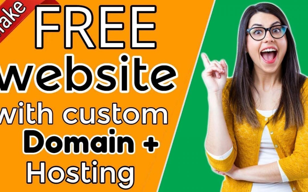 How to build a website with own Domain + Hosting 100% FREE  Website building tutorial  [#3]