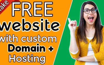 Do It Yourself – Tutorials – How to build a website with own Domain + Hosting 100% FREE |Website building tutorial| [#3]