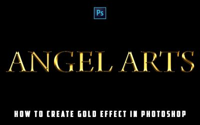How to create Gold effect in Photoshop | Adobe Photoshop | Tutorial