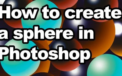 How to create a sphere in Photoshop tutorial