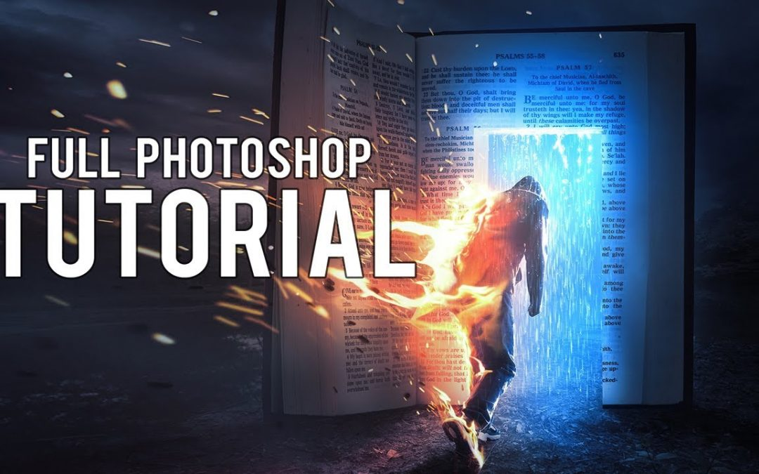 Photoshop Tutorial - Fire Escape