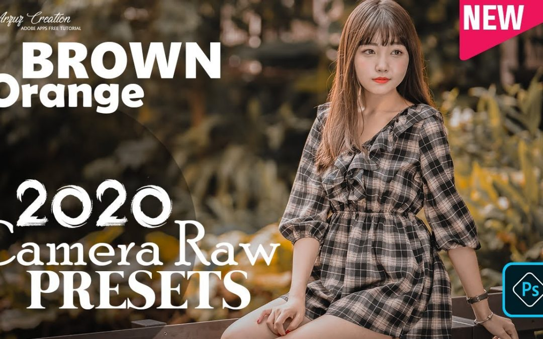 Photoshop Tutorial : How to Create Brown Orange Color Grading। Camera Raw Presets Free Download 2020