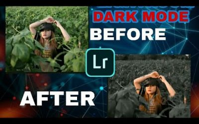 Tutorial Mengedit  Foto Dark Black  Di  Aplikasi Adobe   Photoshop  Lightroom