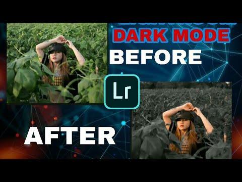Tutorial Mengedit  Foto Dark Black  Di  Aplikasi Adobe   Photoshop  Lightroom