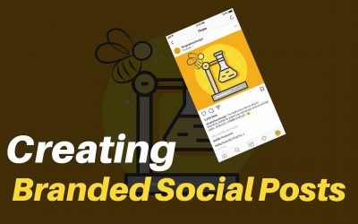 How to Create a Branded Social Post in Photoshop, A Tutorial