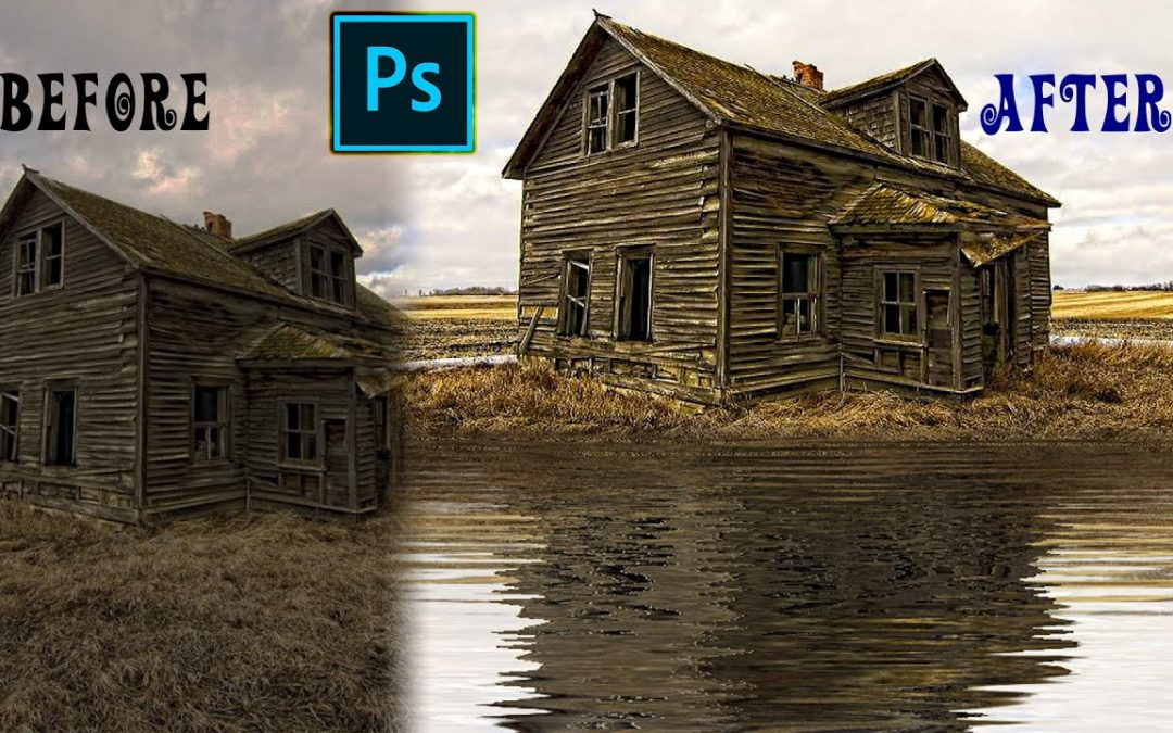How to make Water Reflections With Realistic Ripples in Photoshop - Adobe Photoshop cc