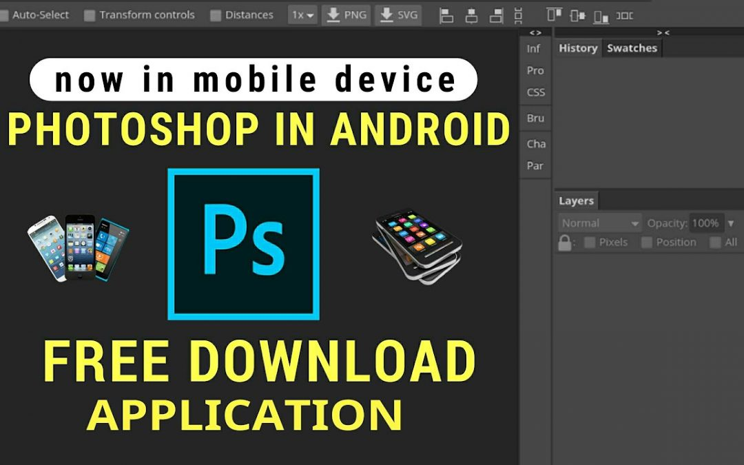 How to Download & Install Mobile PhotoShop CC 2020 on Android Device- Download Photoshop for Android